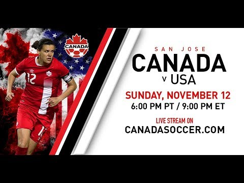 Canada Soccer's Women's National Team v USA International Friendly LIVE from Avaya Stadium, San Jose