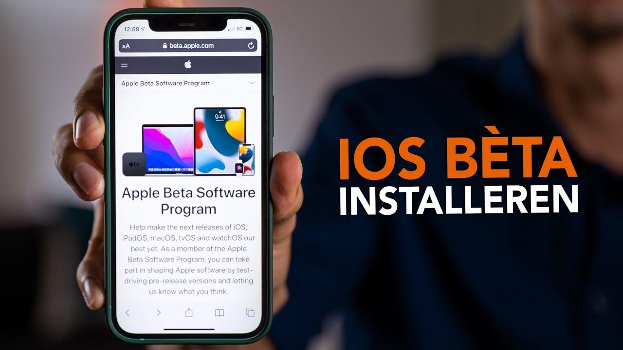 Nieuwe iOS-updates alvast testen? Zo installeer je de bèta