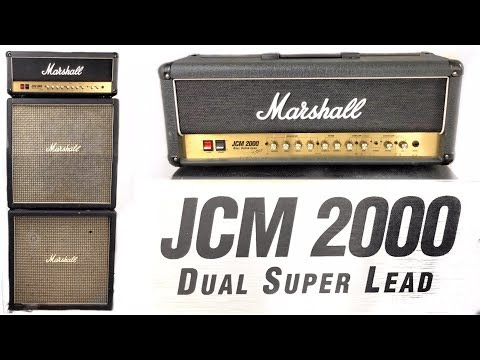 Marshall JCM2000 DSL - Versatile and REALLY EASY TO PLAY!