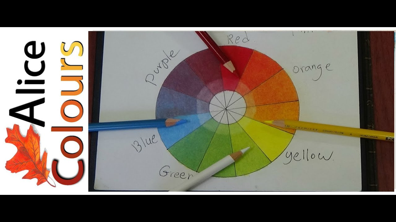 Layering And Mixing Colored Pencils For Beginners 1 Youtube