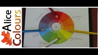 Layering and mixing colored pencils for beginners #1