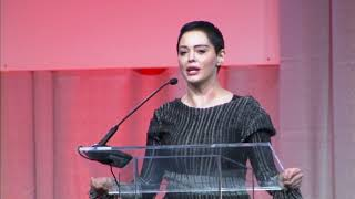 Rose McGowan speaks publicly in Detroit, first time since Weinstein allegations