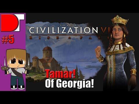 Civilization VI: Rise & Fall - Tamar of Georgia! - Part 5!