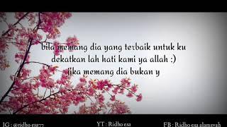 Lagu Video Story Wa - Haruskah Berakhir Cover Daeren Okta -  Quotes Sedih  Terbaru