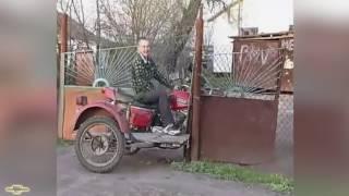 Лучший мотоцикл с коляской приколы и неудачи    MonthlyFails