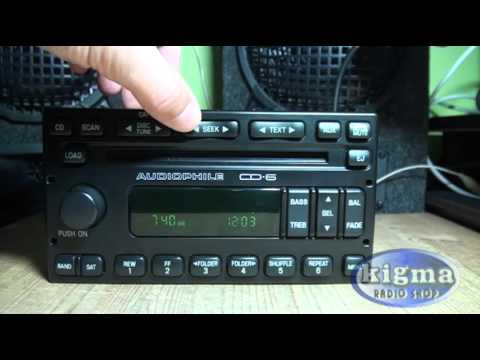 Ford Escape 2007 6 Disc Cd Player Changer Audiophile Sound
