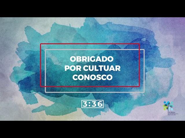 ESCOLA BÍBLICA DOMINICAL - 11/10/2020