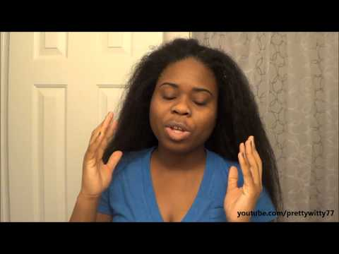 How I Air Dry My Hair Smoothly | Relaxed Hair