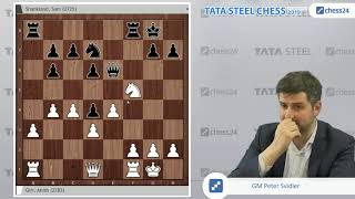 Giri - Shankland, Tata Steel Chess 2019: Svidler's Game of the Day