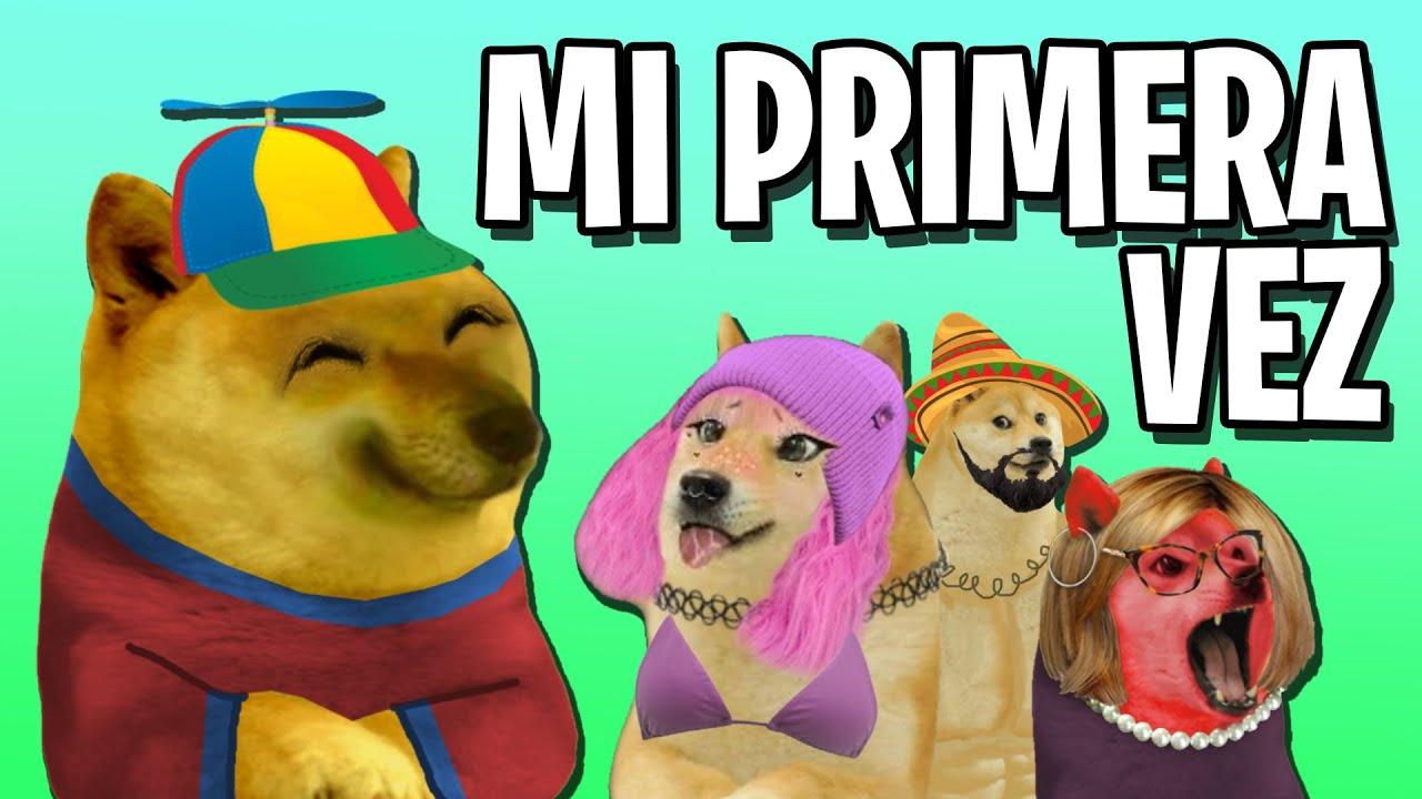 """MI PRIMERA VEZ """"Historias con Cheems #2"""""""