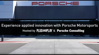Plug and Play & Porsche Consulting Event Wrap Up
