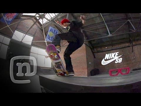 Skateboarder Anthony Estrada Destroys Private Nike Skatepark: NKA Project