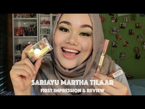 sariayu-martha-tilaar-(eyeshadow-&-lipstick)- -first-impression-and-makeup-tutorial- -makeupbyfatya