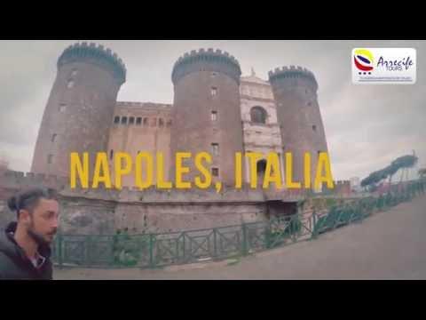 Recorriendo Pompeya, Capri y Napoles en Italia