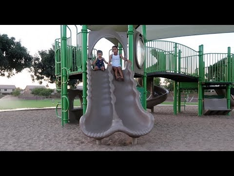 A Day At The Park With Aubrielle And Amelia