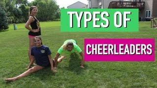 Different Types of Cheerleaders