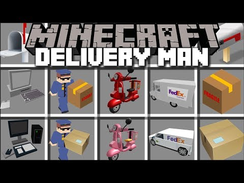 Minecraft DELIVERY MOD / POST AND DELIVER ITEMS ALL AROUND MINECRAFT!! Minecraft Mp3