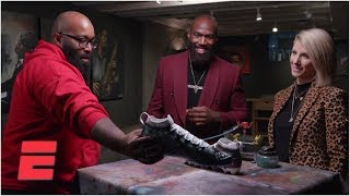 Malcolm Jenkins customizes cleats to highlight College Behind Bars | NFL Countdown