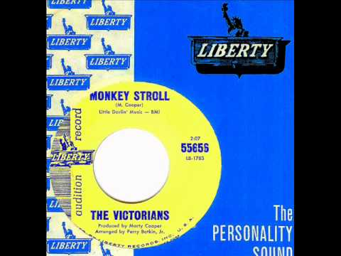 Victorians - MONKEY STROLL  (Gold Star Studio)  (1964)