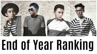 V-POP 2015- End Of Year Ranking! (FAN VOTES!)
