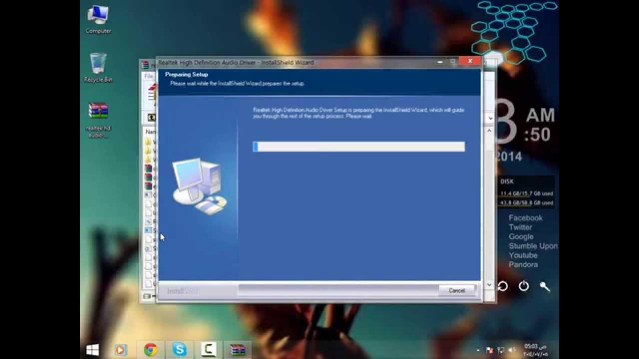 برنامج تشغيل سماعات الكيسة او الشاشه فى ويندوز 7وxp