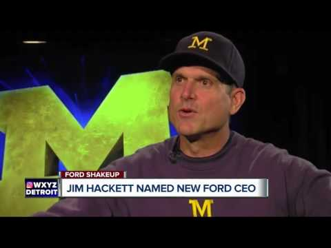 Jim Hackett new CEO of Ford Motor Company