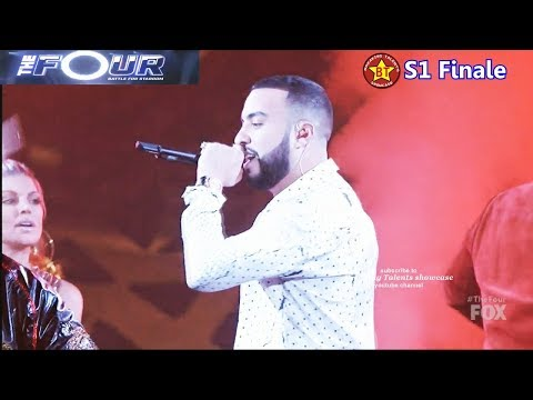 French Montana as Guest Performer The Four Finale