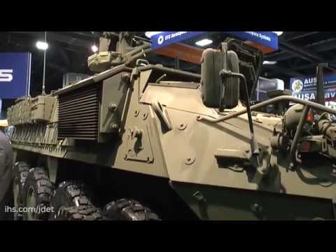 AUSA 2015: General Dynamics Land Systems: Stryker Engineer Change Package (ECP) programme