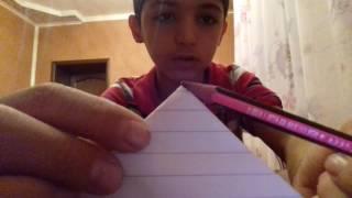 Как сделать  пирамиду из любова листа