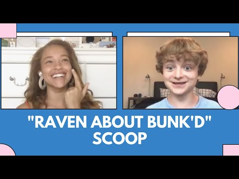 """""""Raven About Bunk'd"""" SCOOP W/ Will Buie Jr. and Shelby Simmons"""