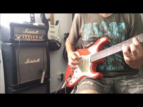 Fender Classic 60 Strat FSR Fiesta Red (Japan) - Part 2: Custom Shop 54 pickups