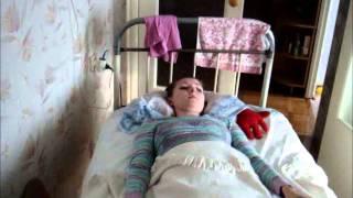 перелом позвоночника, гимнастика рук(анна клименко.травме 8 месяцев.сидеть нельзя.разрабатываем руки после переломов. http://www.youtube.com/user/MelaMela4ka..., 2013-02-08T22:03:33.000Z)