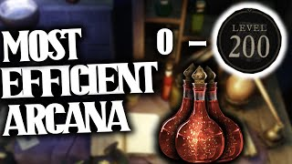 *THIS* Is the BËST way to Level Arcana to 200 in NEW WORLD!