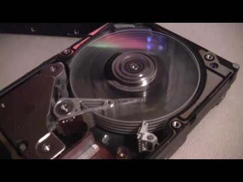 IBM Glass Platter Hard Drive