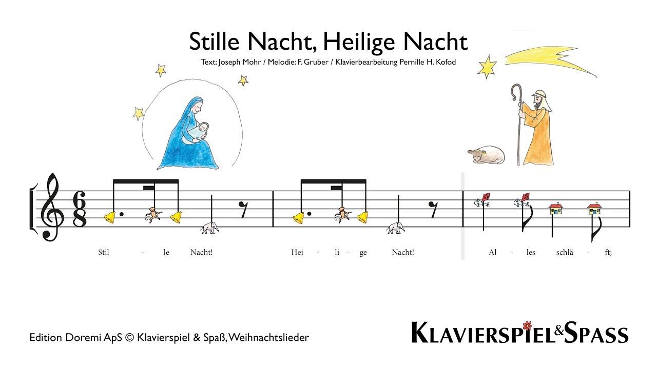 Stille Nacht, Heilige Nacht, Weihnachtslieder, Klavier - YouTube