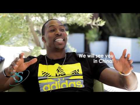 NBA Stars DWIGHT HOWARD & JOHN WALL speak CHINESE with Yi Jianlian!