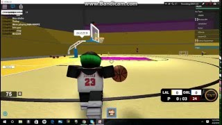 [ROBLOX] NBA Hoopz Gameplay PT1