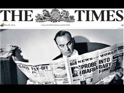 London's The Times hit piece on Julian Assange & Vault7 Brutal Kangaroo
