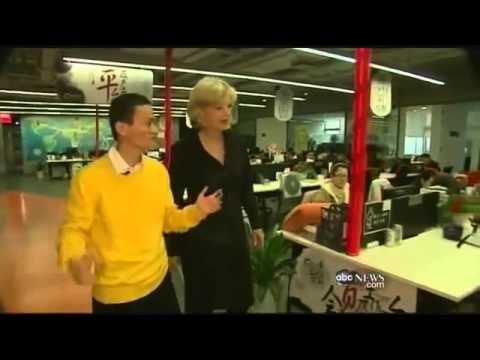 Diane interview with Billionaire Jack Ma