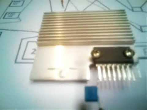 Como montar um amplificador 40 watts com 5 componente