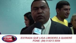 Vereador Luizinho do Tomé reivindicará ações emergenciais na saúde e agricultura.