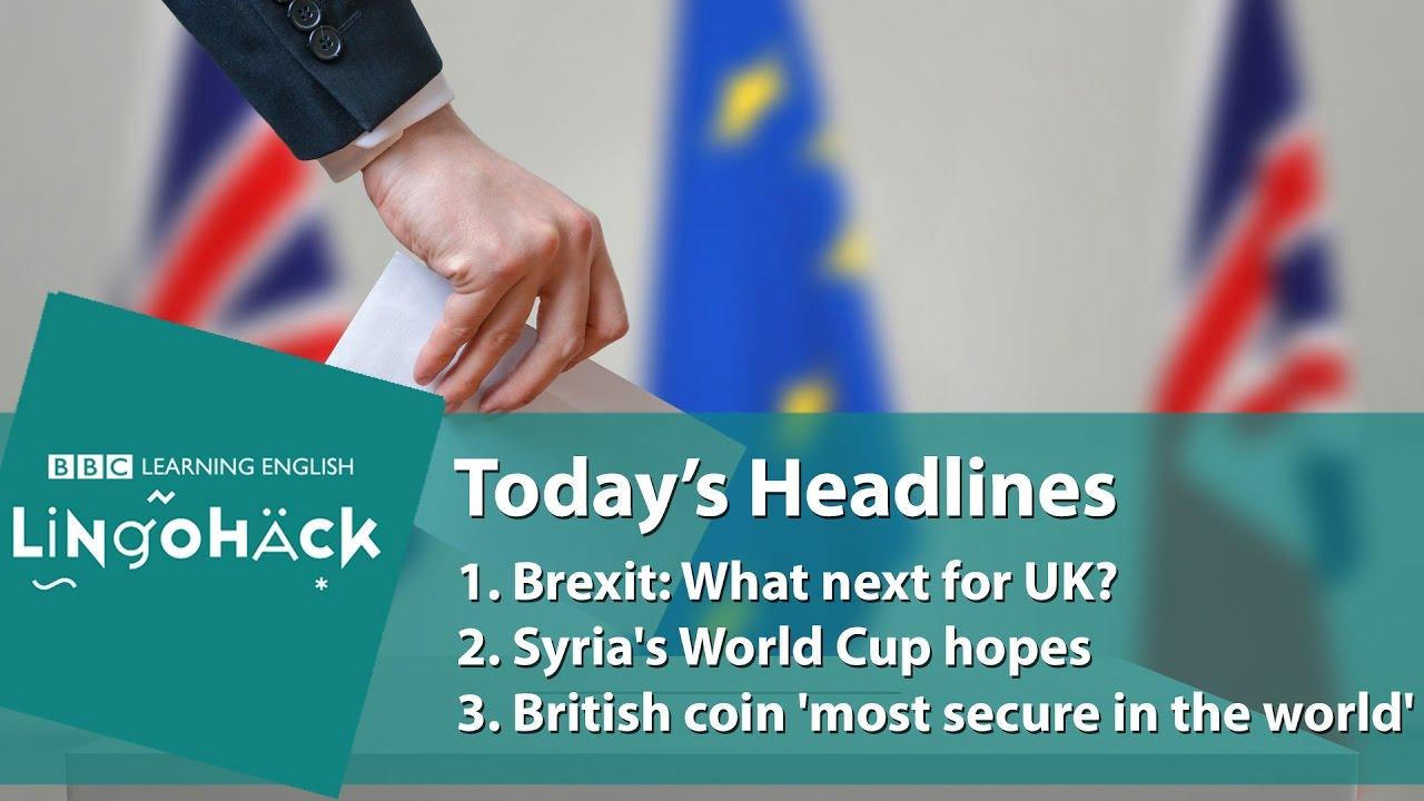 Today's Headlines Bbc