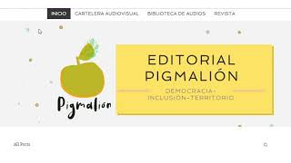 Pitch Editorial Pigmalión