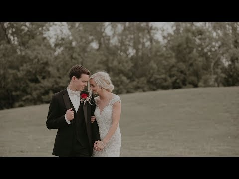Airplane Hangar Reception   Wichita Kansas Wedding Video   Whitney & Harrison