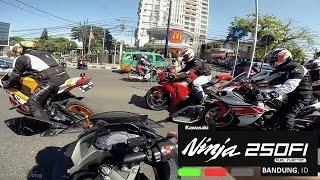 Download Video Ninja 250FI | Ride at Bandung #1 Cisangkuy, Dago, Setiabudhi | Yoshimura R77 MP3 3GP MP4