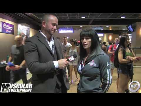 2018 MR OLYMPIA  MEET THE OLYMPIANS  JENNIFER TAYLOR