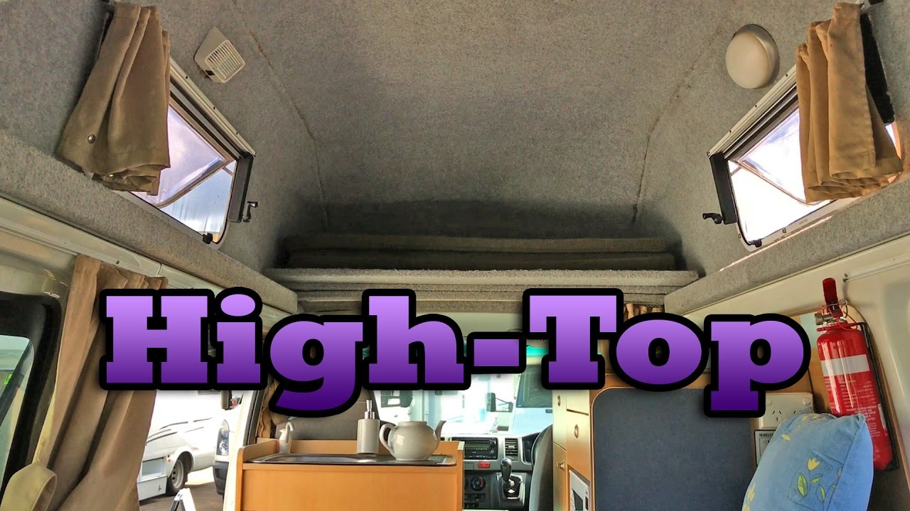 Van Tour Of High Top Or High Roof Camper Van Conversion