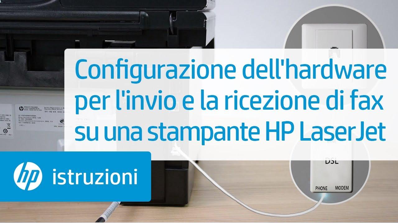 Configurazione Dell Hardware Per L Invio E La Ricezione Di