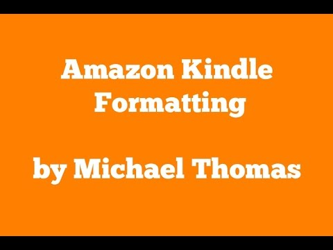 Format table of contents for amazon kindle ebook youtube format table of contents for amazon kindle ebook fandeluxe Image collections
