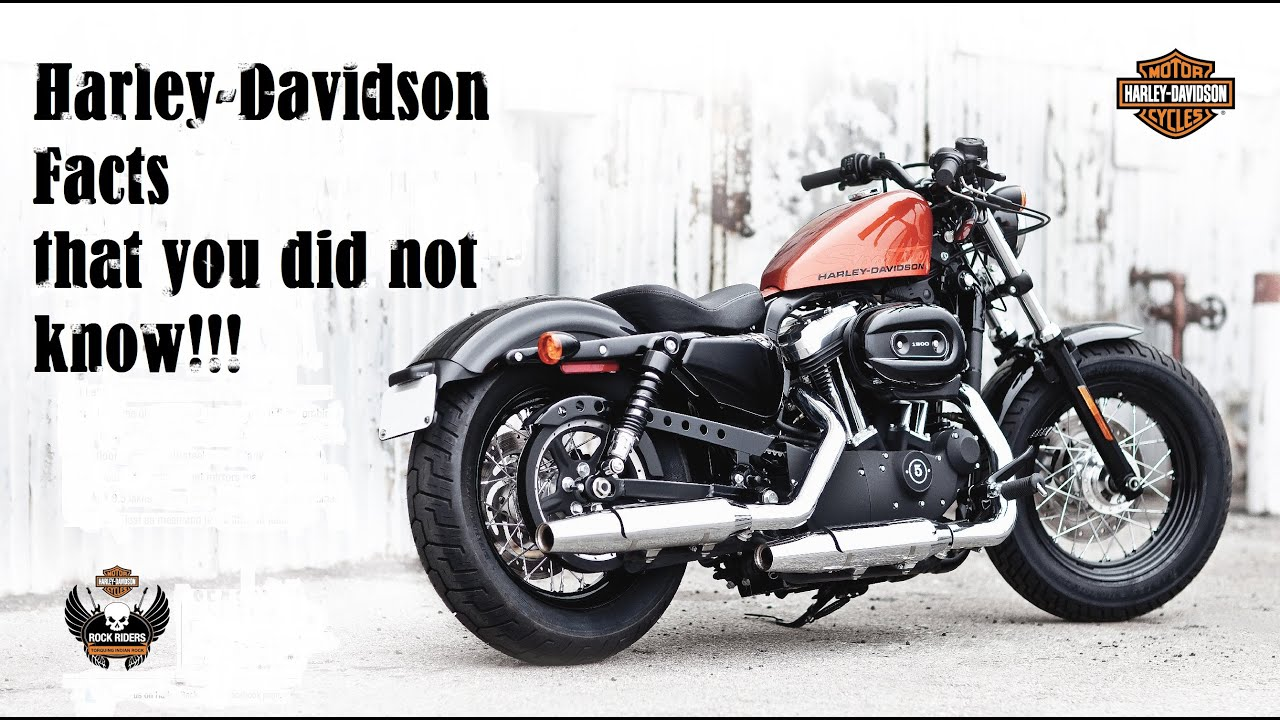Harley Davidson's 10 Facts that you did not know! - YouTube
